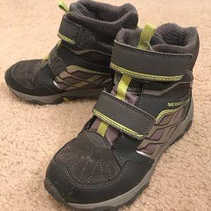 Merrell Moab Polar Waterproof Boys Boots Sz 13M